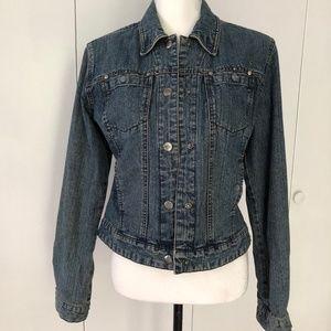Harley Davidson Ladies Denim Jacket Size Small